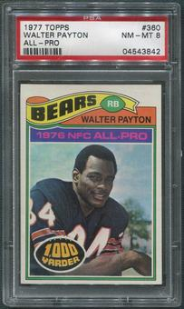 1977 Topps Football #360 Walter Payton All Pro PSA 8 (NM-MT)