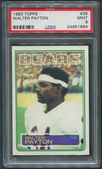 1983 Topps Football #36 Walter Payton PSA 9 (MINT)