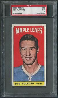 1964/65 Topps Hockey #60 Bob Pulford PSA 7 (NM)