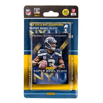 2014 Panini Super Bowl XLVIII Football 20-Card Set