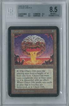 Magic the Gathering Alpha Chaos Orb Single BGS 8.5 (8.5, 8.5, 8.5, 9)