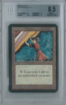 Magic the Gathering Alpha Forcefield Single BGS 8.5 (8, 9, 9.5, 9)