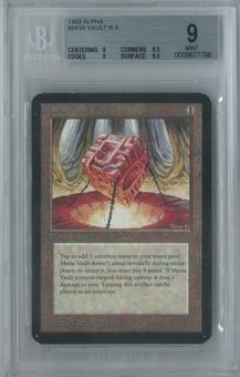 Magic the Gathering Alpha Mana Vault Single BGS 9 (9, 8.5, 9, 9.5)