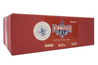 Decision 2016  Series 2 Updated Hobby 8-Box Case