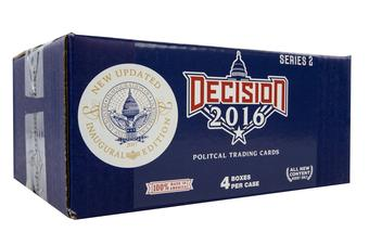 Decision 2016 Series 2 Updated Hobby 4-Box Case