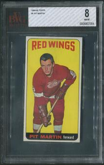 1964/65 Topps Hockey #1 Pit Martin Rookie BVG 8 (NM-MT)