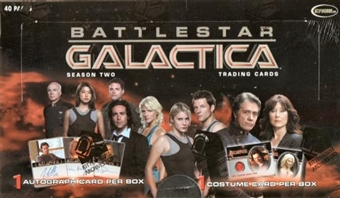 Battlestar Galactica Season 2 Trading Cards Box (Rittenhouse 2007)