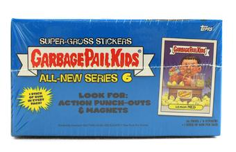 Garbage Pail Kids Series 6 Stickers Box (2007 Topps)