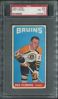 1964/65 Topps Hockey #35 Reg Fleming PSA 8 (NM-MT)
