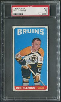 1964/65 Topps Hockey #35 Reg Fleming PSA 5 (EX)