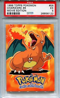 1999 Topps Pokemon Movie Charizard #6 - PSA 5 *26856122*