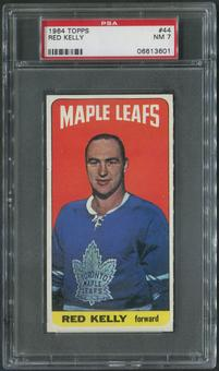 1964/65 Topps Hockey #44 Red Kelly PSA 7 (NM)