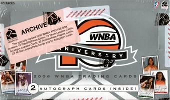2006 Rittenhouse WNBA 10th Anniversary Archive Basketball Hobby Box
