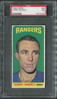 1964/65 Topps Hockey #83 Harry Howell PSA 7 (NM)