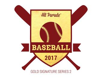 2017 Hit Parade Baseball Gold Signature Edition Series 2 10 Box Case- DACW Live Random Card Break
