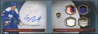 2014/15 The Cup #ARGGR Griffin Reinhart Rookie Gear Patch Tag Auto #19/25
