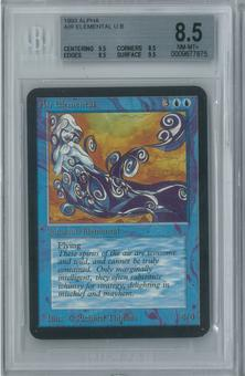 Magic the Gathering Alpha Air Elemental Single BGS 8.5 (9.5, 8.5, 8.5, 9.5)