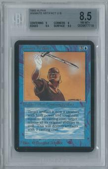 Magic the Gathering Alpha Animate Artifact Single BGS 8.5 (9, 8, 9.5, 9.5)