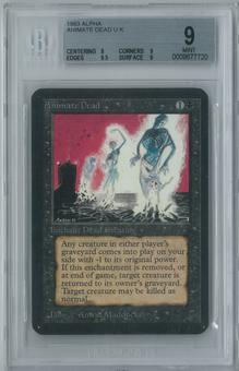 Magic the Gathering Alpha Animate Dead Single BGS 9 (9, 9, 9.5, 9)