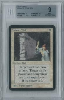 Magic the Gathering Alpha Animate Wall Single BGS 9 (9, 8.5, 9.5, 9)