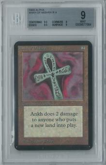 Magic the Gathering Alpha Ankh of Mishra Single BGS 9 (9.5, 9, 9.5, 9)