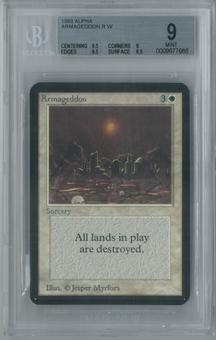 Magic the Gathering Alpha Armageddon Single BGS 9 (9.5, 9, 9.5, 8.5)