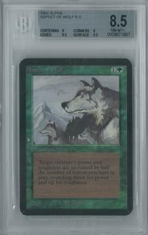 Magic the Gathering Alpha Aspect of Wolf Single BGS 8.5 (9, 8, 9.5, 9.5)