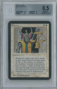 Magic the Gathering Alpha Balance Single BGS 8.5 (8.5, 8, 9, 9)