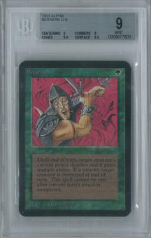 Magic the Gathering Alpha Berserk Single BGS 9 (9, 9, 9.5, 9.5)