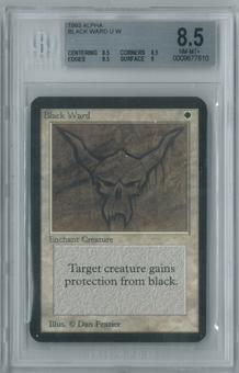 Magic the Gathering Alpha Black Ward Single BGS 8.5 (8.5, 8.5, 9.5, 9)