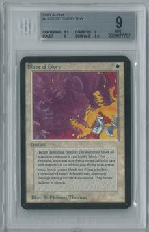 Magic the Gathering Alpha Blaze of Glory Single BGS 9 (9.5, 9, 9, 8.5)