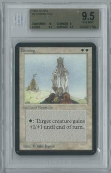 Magic the Gathering Alpha Blessing Single BGS 9.5 (10, 9, 9.5, 9.5)