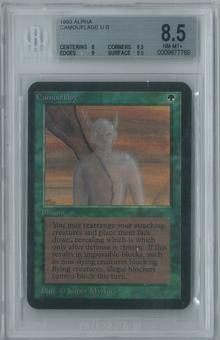 Magic the Gathering Alpha Camouflage Single BGS 8.5 (8, 8.5, 9, 9.5)
