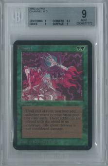 Magic the Gathering Alpha Channel Single BGS 9 (9, 8.5, 9, 9)