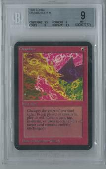 Magic the Gathering Alpha Chaoslace Single BGS 9 (9.5, 9, 9, 9.5)