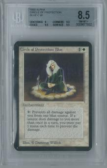 Magic the Gathering Alpha Circle of Protection: Blue Single BGS 8.5 (8, 9.5, 9.5, 9.5)