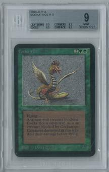 Magic the Gathering Alpha Cockatrice Single BGS 9 (8.5, 9.5, 9.5, 9.5)