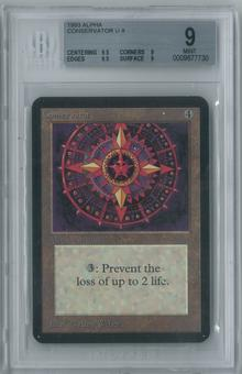 Magic the Gathering Alpha Conservator Single BGS 9 (9.5, 9, 9.5, 9)