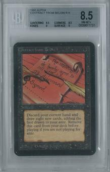Magic the Gathering Alpha Contract from Below Single BGS 8.5 (8.5, 8.5, 9, 9)