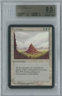Magic the Gathering Alpha Conversion Single BGS 9.5 (9.5, 9, 9.5, 9.5)