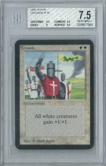 Magic the Gathering Alpha Crusade Single BGS 7.5 (9.5, 8.5, 9, 6.5)