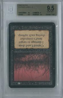 Magic the Gathering Alpha Cursed Land Single BGS 9.5 (10, 9, 9.5, 9.5)