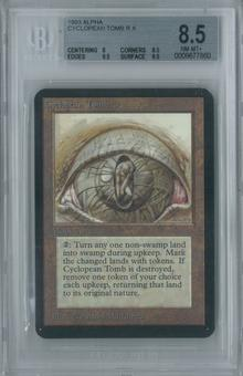 Magic the Gathering Alpha Cyclopean Tomb Single BGS 8.5 (8, 8.5, 9.5, 9.5)