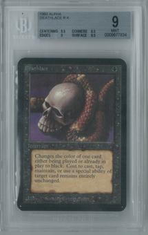 Magic the Gathering Alpha Deathlace Single BGS 9 (9.5, 8.5, 9, 9.5)