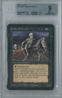 Magic the Gathering Alpha Drudge Skeletons Single BGS 9 (8.5, 9.5, 9.5, 9)