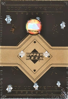 2007 Upper Deck Premier Baseball Hobby Box