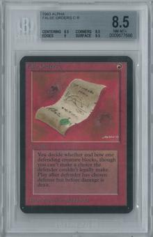 Magic the Gathering Alpha False Orders Single BGS 8.5 (8.5, 8.5, 9, 9.5)