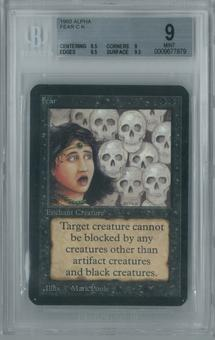 Magic the Gathering Alpha Fear Single BGS 9 (8.5, 9, 9.5, 9.5)