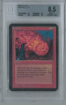 Magic the Gathering Alpha Fireball Single BGS 8.5 (8.5, 8.5, 9.5, 10)