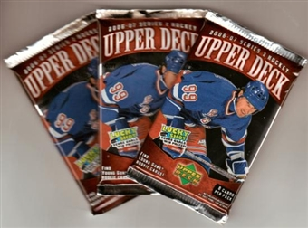2006/07 Upper Deck Series 2 Hockey Hobby Pack